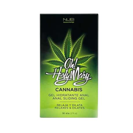 gel anal hidratante oh holy cannabis 50 ml