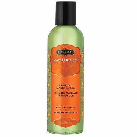 aceite de masaje natural mango tropical kamasutra 59 ml
