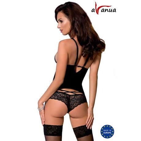 corset negro lou avanua