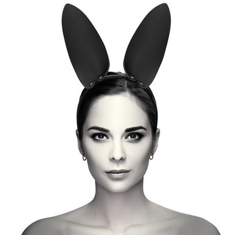 diadema con orejas de conejo coquette