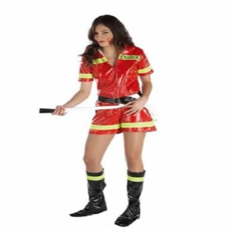 disfraz de bombera erotica para mujer