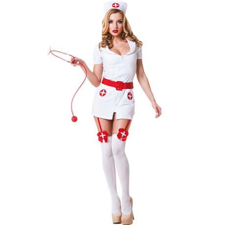 disfraz de enfermera sexy 3 piezas le frivole
