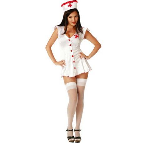 disfraz de enfermera sexy dos piezas