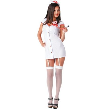 disfraz de enfermera urgencias 2 piezas