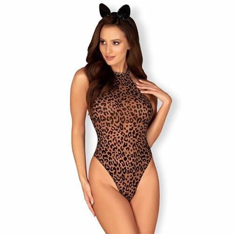 disfraz de leopardo marron obsessive