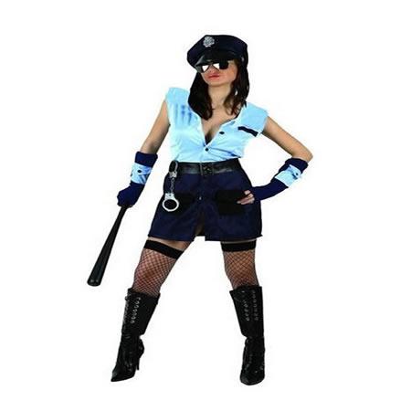 disfraz de policia americana erotica