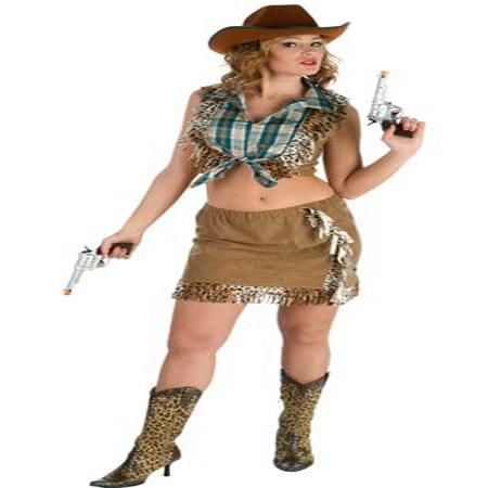 disfraz de vaquera sexy mujer