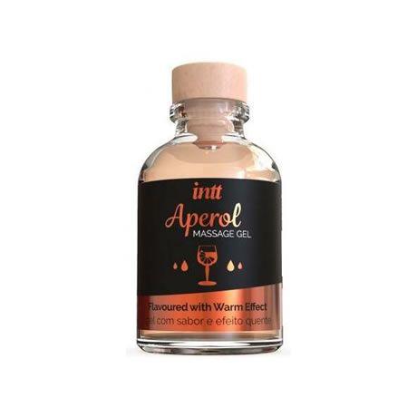 gel de masaje besable sabor aperol