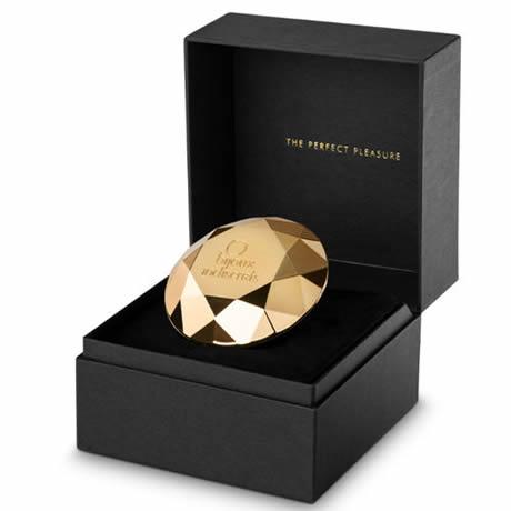 joya diamante vibrador dorada bijoux indiscrets