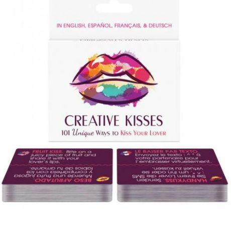 juego de cartas 101 maneras para besos originales