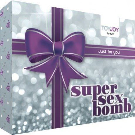 kit erotico super sex bomb lila