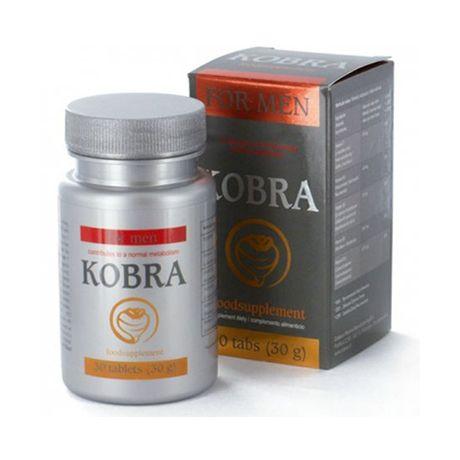 kobra rendimiento para hombre 30 capsulas