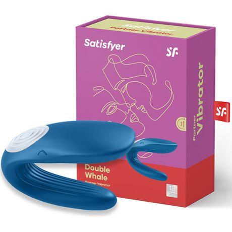 vibrador para parejas satisfyer partner azul satisfyer