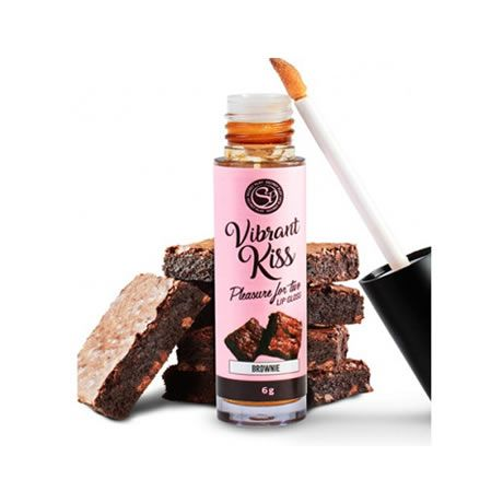 lip gloss beso vibrante brownie