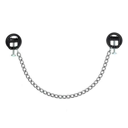 pinzas con cadena para pezones rimba bondage