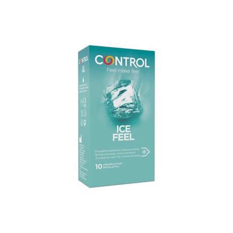 preservativos ice feel 10 uds control
