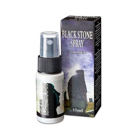 retardante black stone spray para el hombre