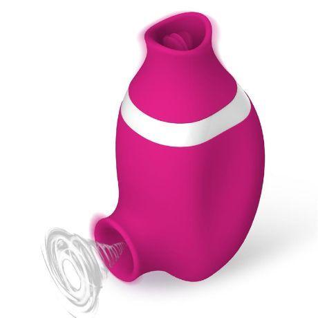 succionador de clitoris y lengua estimuladora usb silicona