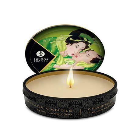 vela de masaje shunga te verde 30 ml