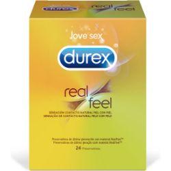 preservativos durex  real feel 24 und