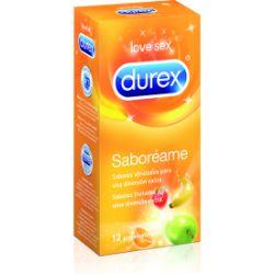 preservativos durex saboréame 12 uds