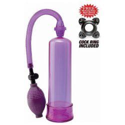 bomba de ereccion principiantes lila pump worx
