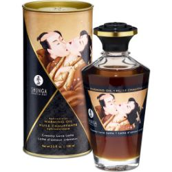 shunga aceite efecto calor crema love latte100 ml