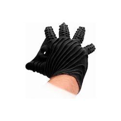 guante masturbaciÓn fisting negro