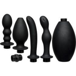 kink set de ducha anal de silicona
