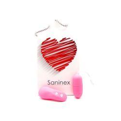 vibrador egg wireless rosa saninex