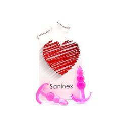 plug initiation 3d pleasure economico line rosa saninex