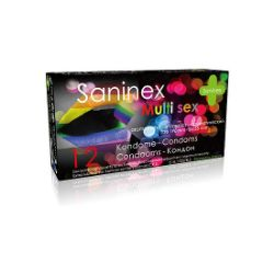 preservativos multi sex de 12 unidades