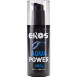 lubricante anal base agua aqua power 125 ml