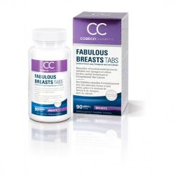 capsulas potenciador del busto fabulous breasts 90 unds