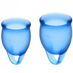 copa menstrual feel confident azul oscuro