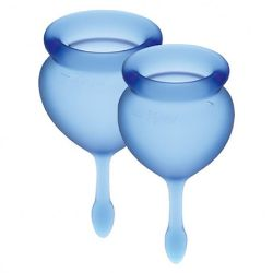 copa menstrual higienica feel good azul oscuro