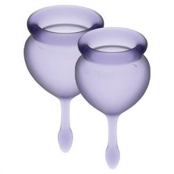 copa menstrual satisfyer feel good morado