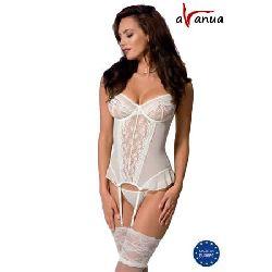 corset ariel ecru blanco avanue