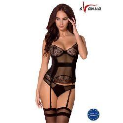 corset hanan negro avanua