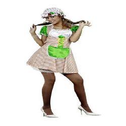 disfraz de campesina sexy mujer