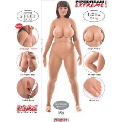muñeca real curvy mia fantasy