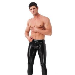 pantalones de latex masculinos varias tallas rimba
