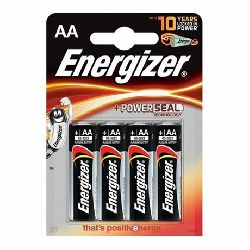 pilas alcalinas aa lr6 blister pack 4 energizer