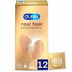 preservativos latex durex real feel 12 und