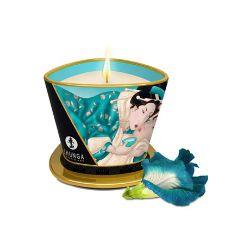 vela de masaje flores de las islas shunga 170 ml