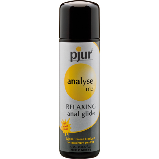 gel relajante anal pjur analyse me 250 ml