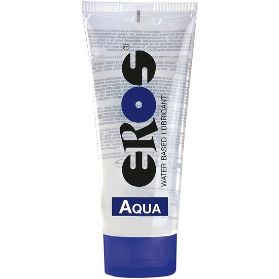 lubricante base agua eros aqua 200 ml