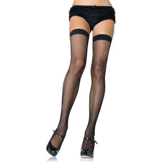 medias de red de nylon leg avenue